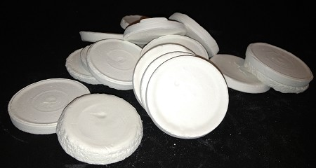 50 Ceramic Frag Disks